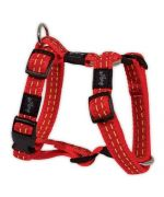 Harness for dogs red (turn of chest - 75 to 100 cm)