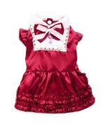 red christmas red for dog funny girl pet store online trend fashion free shipping