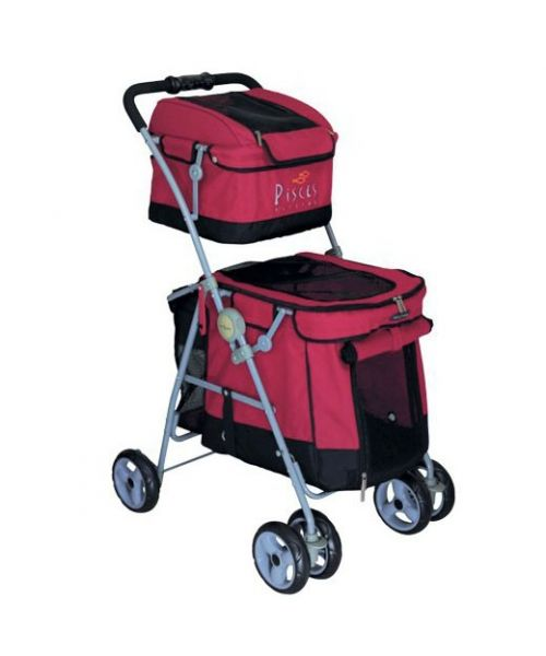 strollers-for-dogs-cats-animals-of-company-red-2-storey-face-of-love