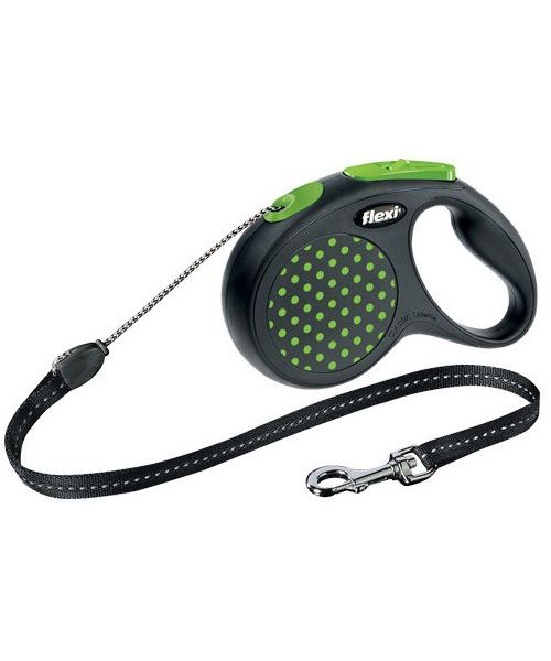 leash-flexi--a-pea-green-with-cord-dog-cat-shop-face-of-love