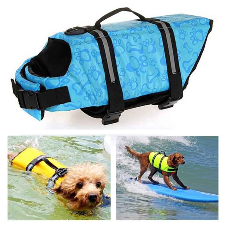 acheter gilet de sauvetage bleu ciel animaux de compagnie petit grand chien gueule d amour