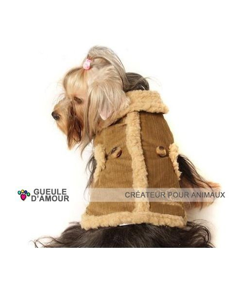 Coat stylish dog very warm for the winter large-border collie, golden labrador, boxer briefs, size 2xl 3xl 4xl