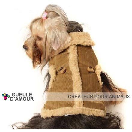 Manteau élégant pour chien très chaud pour l hiver grande race border collie, golden, labrador, boxer, taille 2xl 3xl 4xl