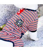 pajamas for pets striped sailor style gueule d'amour boutique france