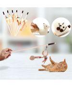jouet pour petit chaton rigolo amusant avec petite souris et ficelle extensible gueule d amour france