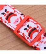 collar for big dog for christmas, red and white cheap original gift for cocker spaniel large breed