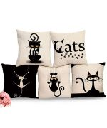 collection of cushions on the theme of the chat to original gift