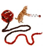toy cat catch ball wool not expensive super funny