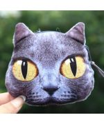 cute funny black cat coin purse free shipping cat gift