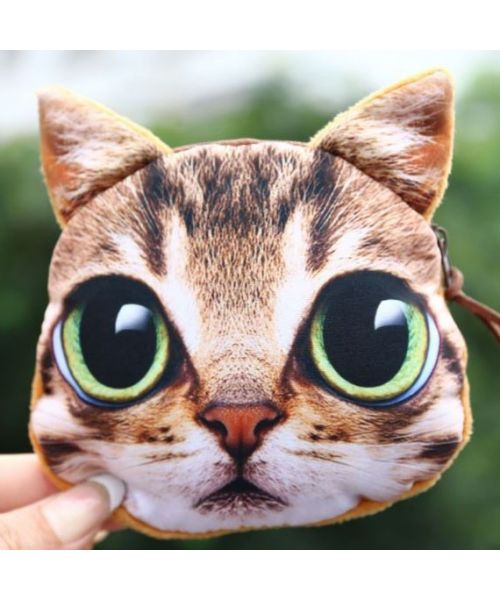cute funny black cat coin purse free shipping cat gift animal themed gift ideas