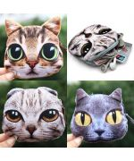 cat head coin purses collection