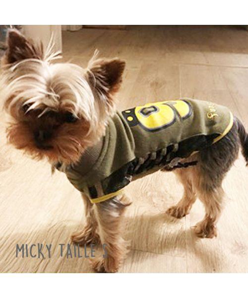 Micky looky petit york portant son petit t-shirt de sport.jpg