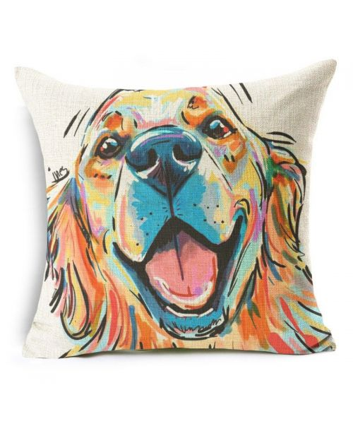 Cushion labrador for interior of house not expensive