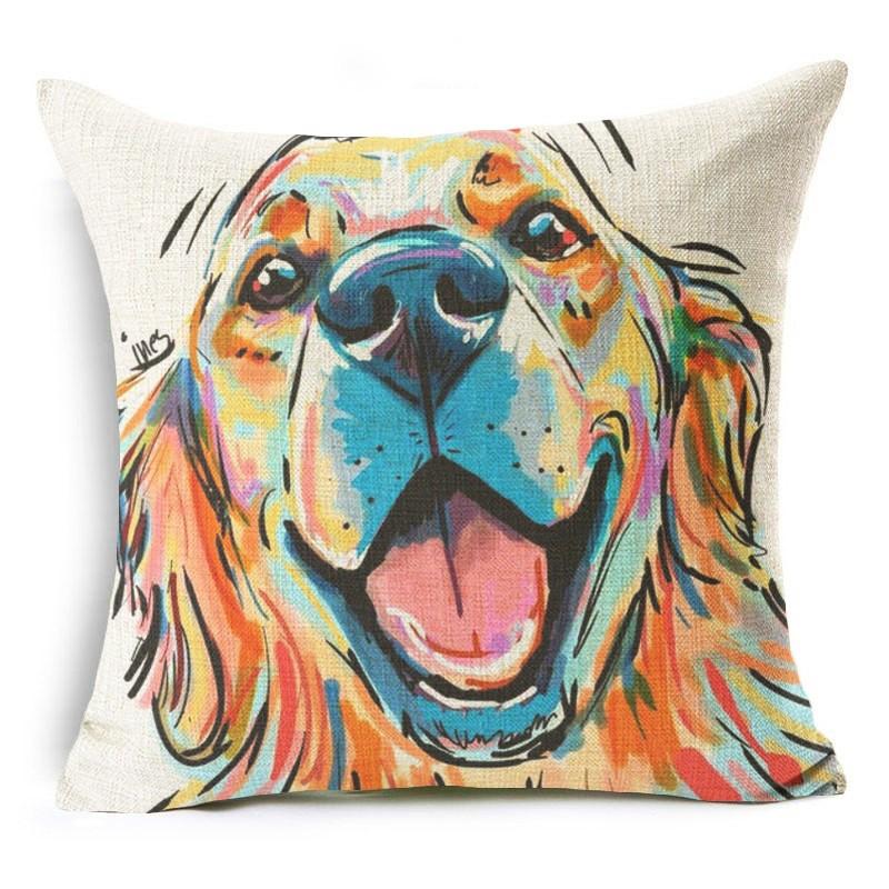 Labrador cushion for home interior cheap