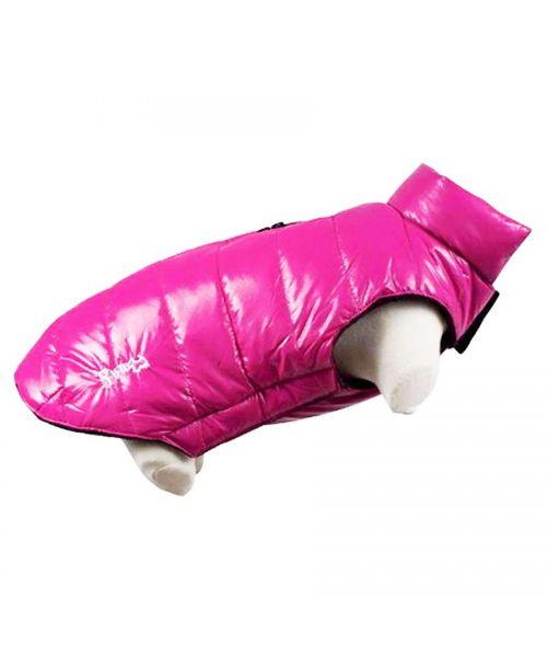 doudoune-rose-chaude-interieur-polaire-pour-chien-pas-cher