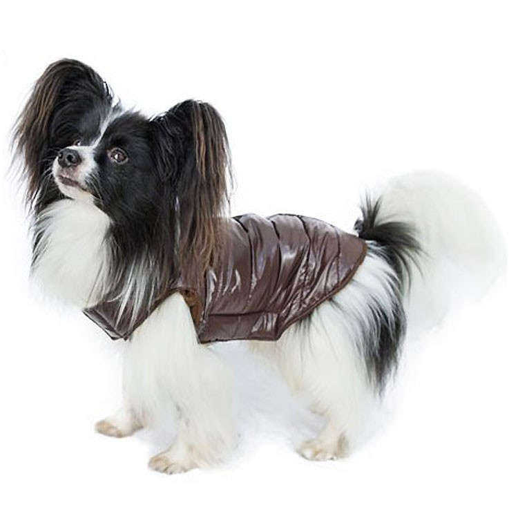 down-jacket-brown-for-dog-waterproof-fleece