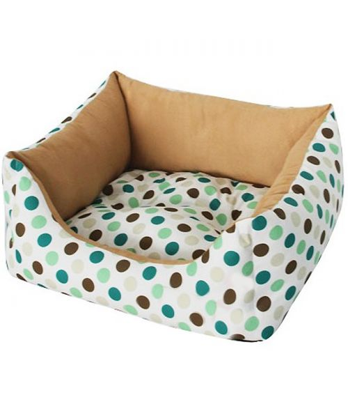 sofa polka-dot white and beige for cats and dogs free shipping on express gift original quality