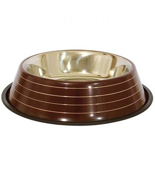 large brown class dog bowl express free delivery