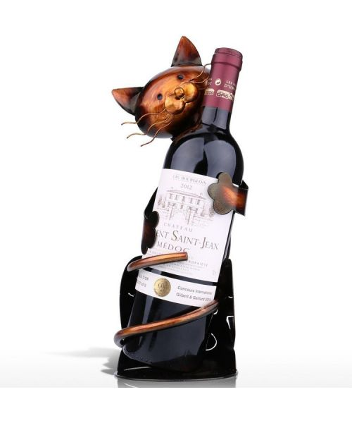 bottle holder original cute cat for original gifts for fans of cats not expensive express delivery