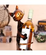 bottle holder wine not expensive for original gifts fans of cats