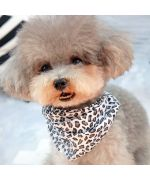 "Scarf Bandana Leopard"" - Dog and cat"