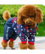 Raincoat for dog with paws delivery Paris Marseille Avignon Nice Valence Caen Nancy