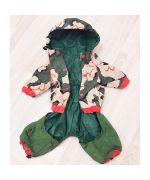 raincoat for dog protection rain camouflage for westie bichon poodle spitz york cavalier jack russel pinsher