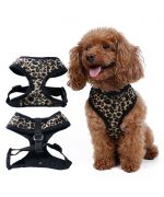 dog harness leopard harness vest cheap