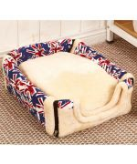 basket for dog union jack