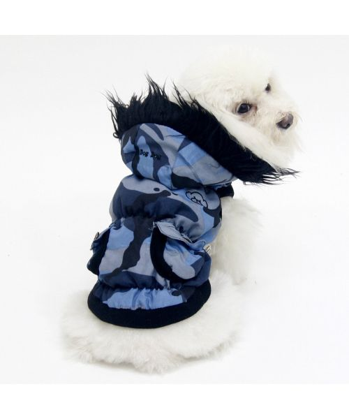 Coat for dog hoodie camouflage ultra-cute bichon, lhasa, great york, shitzu...