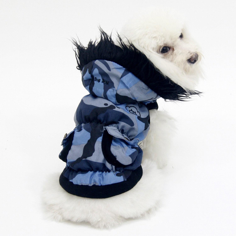 Coat for dog hoodie camouflage ultra-cute bichon, lhasa, great york, shitzu...