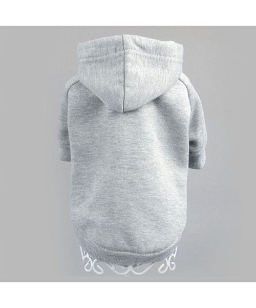 sweater for dogs grey hood cheap shop for dog Jaws of Love