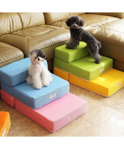 Escalier pour chien pas cher idéal chien agé, malade, petit chien, chiot, chihuahua, spitz, yorkshire