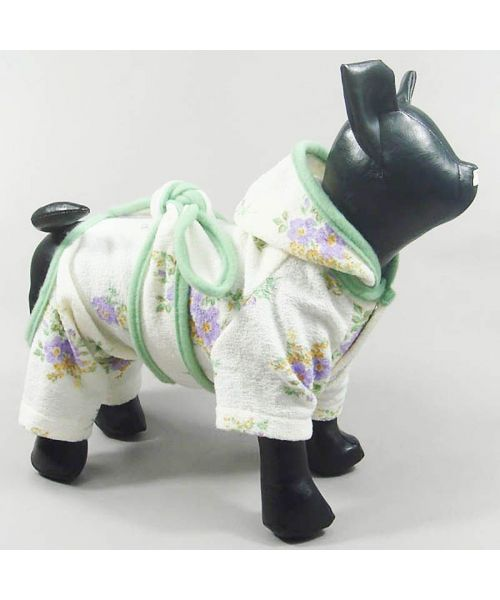 buy white bathrobe - dog and cat on pet shop online for cheap gift christmas, birthday, party Paris Lyon Nice...