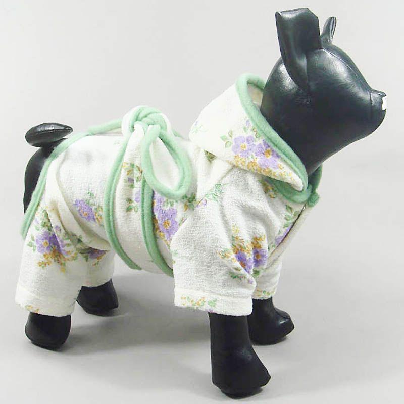peignoir pour petit chien chihuahua yorkshire bichon bouledogue francais carlin caniche spitz jack
