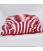 cushion for dog striped red not che low price
