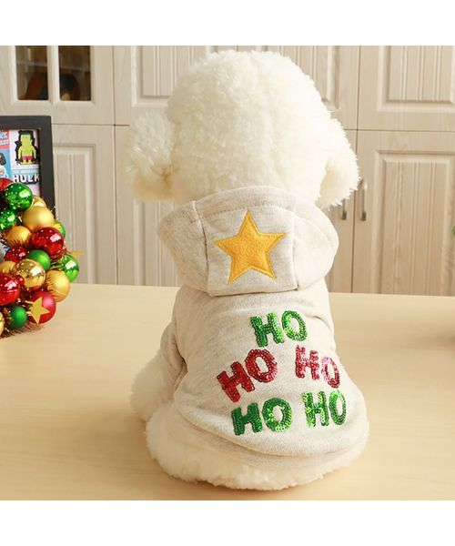sweat pour chien noel cadeau original bichon, bouledogue francais, cocker, westie, fox terrier..