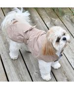 imperméable pour chien beige-marseille-paris-alpes-bretagne-nantes-montpellier