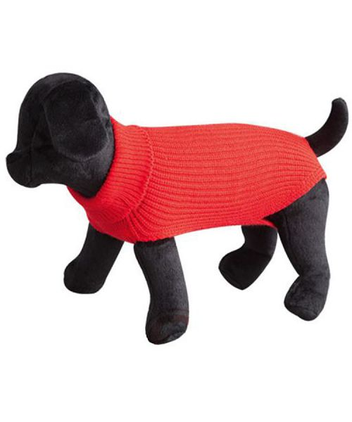 sweater for dog, red, small-size and large-size marseille paris montpellier cannes nice