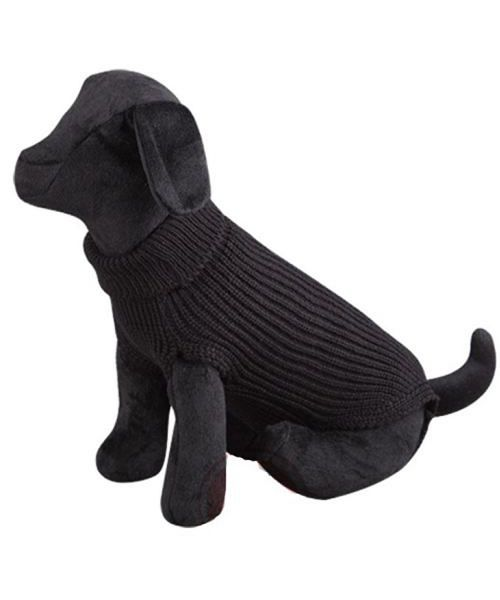 pullover for dog black wool cheap cute classic practice shop ile de la reunion martinique dom tom