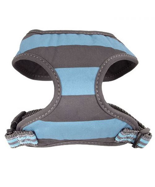 Dog harness navy blue for chihuahua, yorkshire, bichon pug bulldog delivery dom-tom