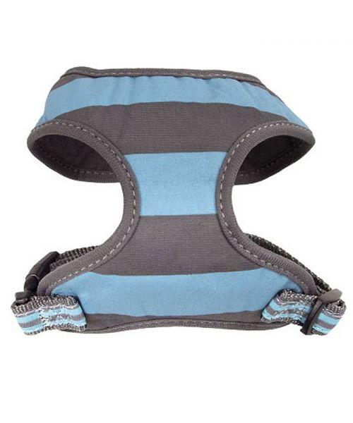 Harnais pour chien bleu marin pour chihuahua yorkshire bichon carlin bouledogue livraison dom tom