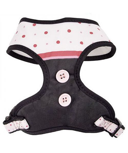 harness nylon dog girl cheap pink grey delivery to martinique reunion guadeloupe, dom-tom