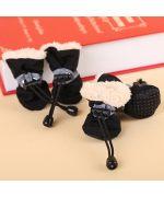 petites chaussures pour chiens hiver contre la pluie neige impermeable livraison guadeloupe martinique ile de la reunion