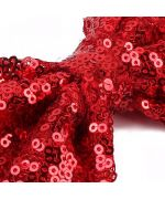 bow tie for dog red sequins pas cher martinique guadeloupe reunion island saint barth