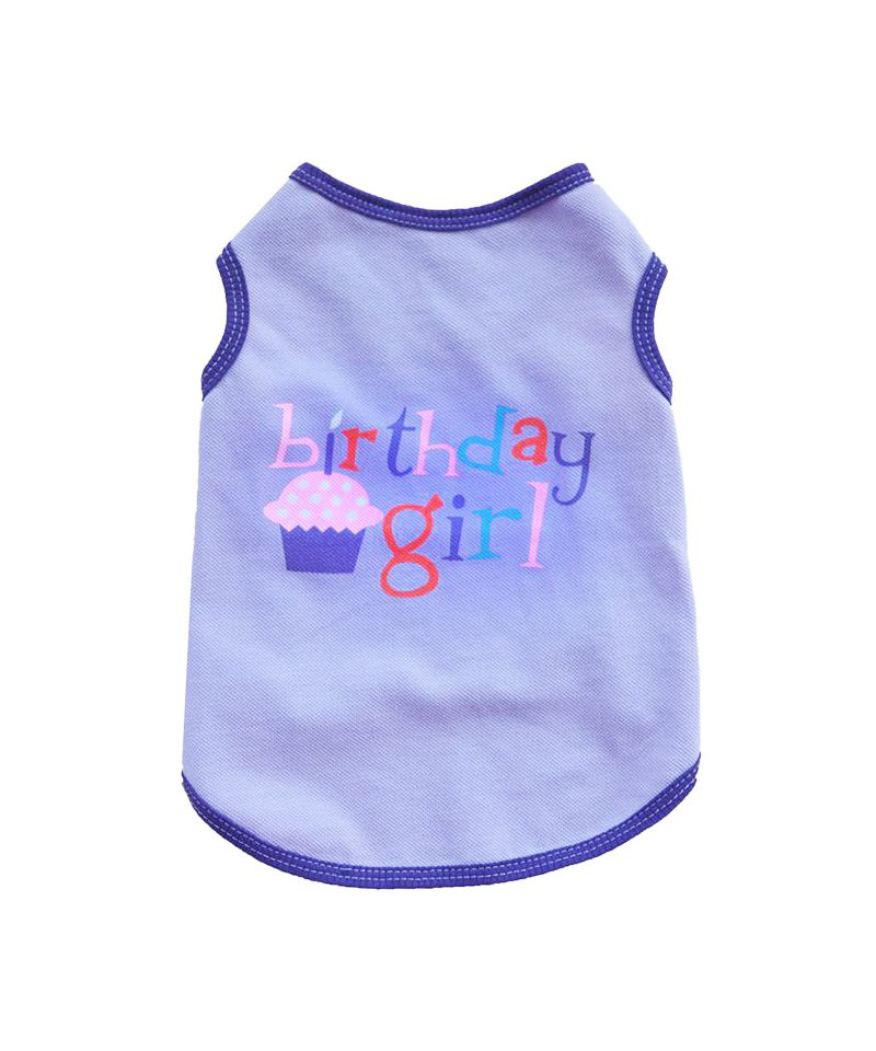 T Shirt For Dog Birthday Pet Girl Puppy Dogs Cats Happy
