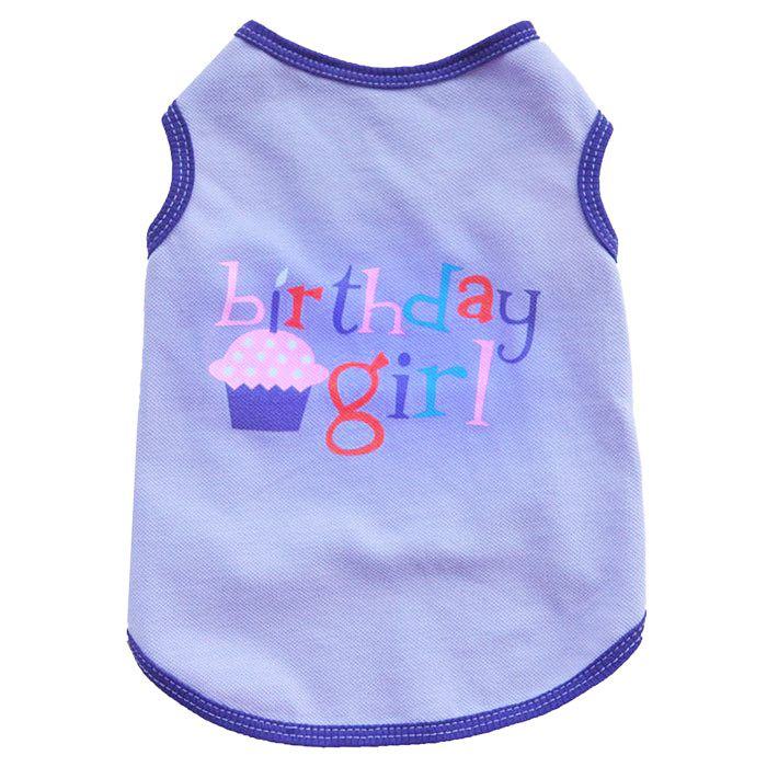 t-shirt for dog birthday t-shirt for pet girl puppy dogs cats happy birtday