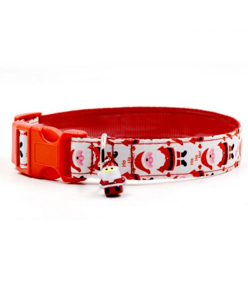 christmas gift for dog cheap original, at discount prices with fast delivery red and white padded upholstery bell