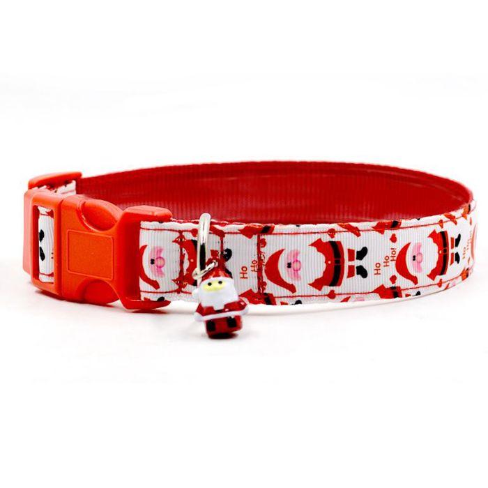 cadeau de noel pour chien pas cher original à petits prix collier pour animaux de compagnie cadeau noel rouge