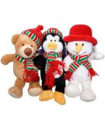 plush dog special christmas gift original soft toy dog christmas gift guadeloupe martinique